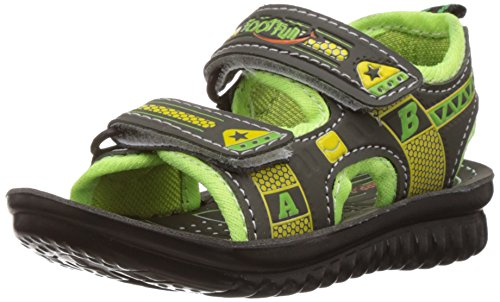 Foot Fun (from Liberty) Boy's Phantom-10 Green Sandals and Floaters - 9...