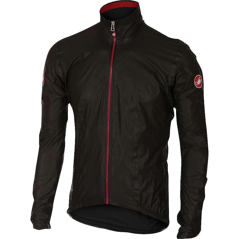 カステリ アウター ジャケットブルゾン Castelli Men's Idro Jacket Black 1c2 [並行輸入品] B076CM6X3H XL
