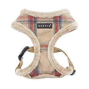Puppia Kemp Harness-A for Pets, Beige, Medium