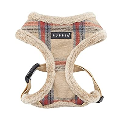 Puppia Kemp Harness-A for Pets, Beige, Medium