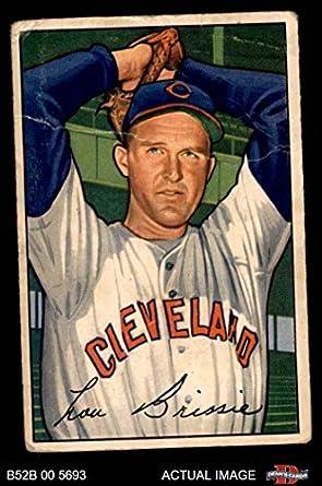 Amazoncom 1952 Bowman 79 Lou Brissie Cleveland Indians