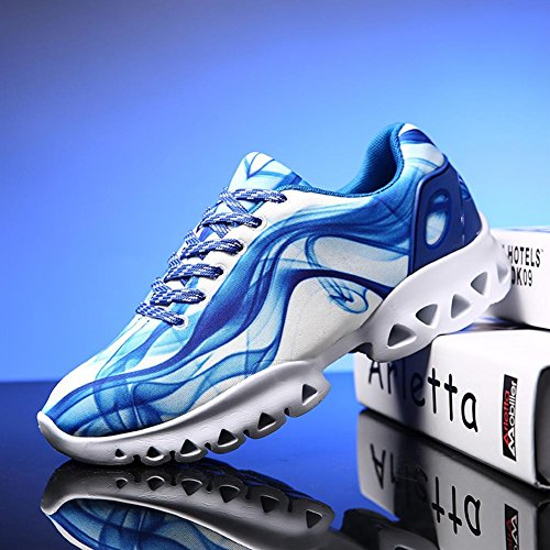 Graffiti calzado deportivo verano y otoño ligero transpirable y antideslizante zapatillas deportivas zapatilla de deporte de moda boln white 816