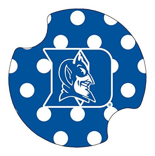 Thirstystone Duke University Dots Car Cup Holder Coaster, (Duke University Car)