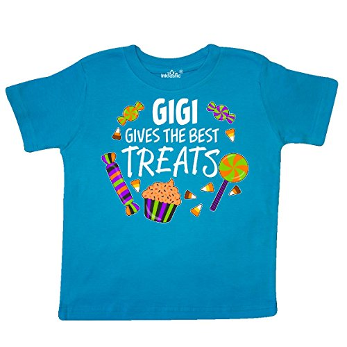 Inktastic - Gigi Gives the Best Treats- Halloween Toddler T-Shirt 4T (Halloween Cupcakes For Preschoolers)