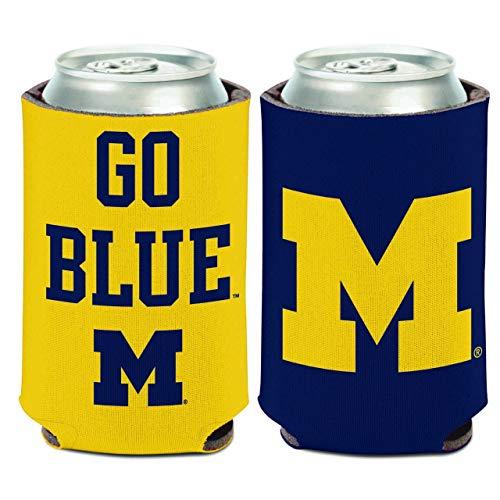 WinCraft Michigan Wolverines NCAA Team Pride Can Cooler - Team Color,
