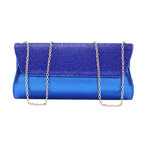 Damara Snap Women Shining Clutch Double Gold Evening Rhinestone TqT6U