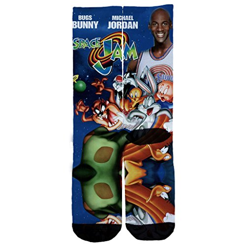 Price comparison product image Memo Apparel Space Jam Custom Socks One Size 6 - 12 Multi