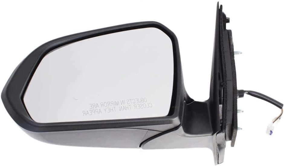 Drivers Power Side View Mirror Heated w/Turn Signal Replacement for 15-17 Hyundai Sonata 87610-C2010 AutoAndArt
