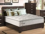 What Type of Mattress Is Best for Back Pain Greaton 10-inch Medium Plush Pillow Top Innerspring Type Mattress, California King, white