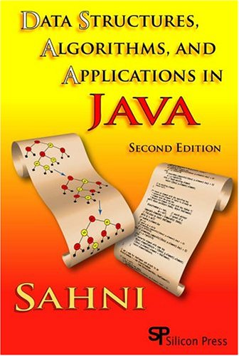 Data Structures, Algorithms, And Applications In Java by Brand: Silicon Pr
