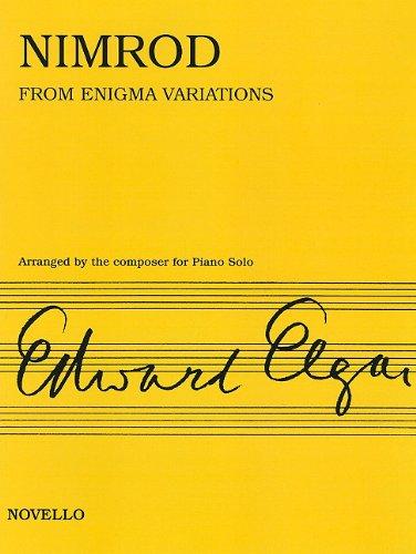 Download Nimrod From Enigma Variations Op. 36: Piano Solo ebook