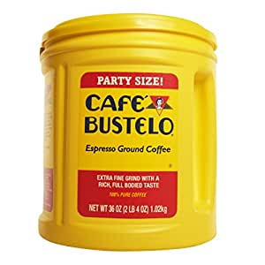 Cafe Bustelo Coffee Espresso, 36 Ounce