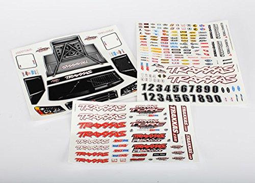 - Traxxas 6813 Slash 4x4 Decal Sheet