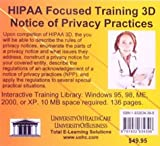 HIPAA Focused Training 3D Notice of Privacy Practices, Farb, Daniel, 1932634398
