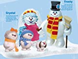 Frosty the Snowman Snow Family Fun Action Figure Gift Set