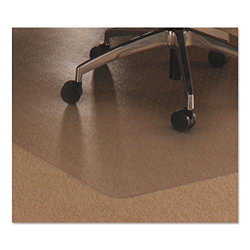 Polycarbonate Pack - Cleartex Ultimat Rectangular Chair Mat, Clear Polycarbonate, For Low & Medium Pile Carpets (up to 1/2