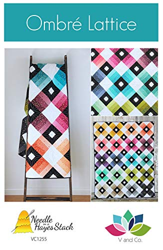 Ombre Lattice Quilt Pattern by Tiffany Hayes from V and Co. VC1255-68