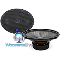 HD-690CF.2 - CDT Audio 6 x 9 125W RMS 2-Ohm Carbon Fiber Subwoofer