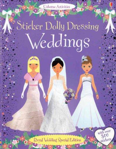 Sticker Dolly Dressing Weddings: Royal Wedding Special Edition