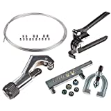 JEGS Performance Products 635206K Stainless Steel Brake Line and Tool Kit 1/4 Di