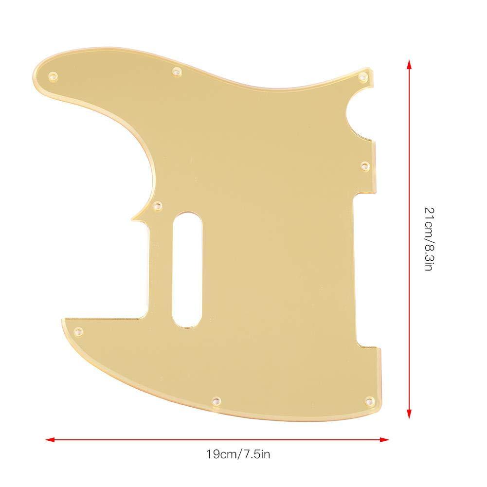Metal TL Style Pickguard con Tornillos Guitarra Eléctrica (Dorado): Amazon.es: Deportes y aire libre