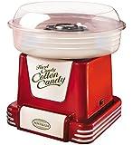 Nostalgia PCM805RETRORED Retro Series Hard & Sugar Free Candy Cotton Candy Maker