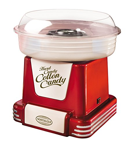 nostalgia-pcm805retrored-retro-series-hard-sugar-free-candy-cotton-candy-maker