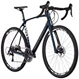 Diamondback Bicycles Haanjo Trail Carbon Alternative Road Bike, 59cm/X-Large, Blue Diamondback Bicycles