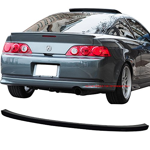 Pre-painted Trunk Spoiler Fits 2002-2006 Acura RSX | Factory Style ABS Painted #B92P Nighthawk Black Pearl Boot Lip Rear Spoiler Wing Deck Lid Other Color Available By IKON MOTORSPORTS