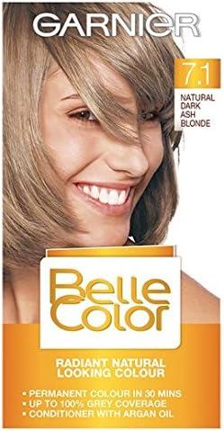 Garnier Belle Color 7.1 Rubio Oscuro ceniza): Amazon.es ...