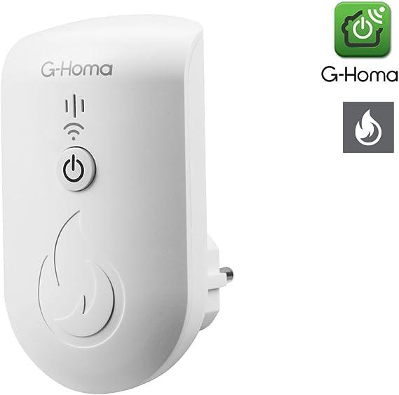 Zusatz zu Mini-Alarmsystem von G-Homa Hausalarm 2er-Set WiFi Fensterkontakt