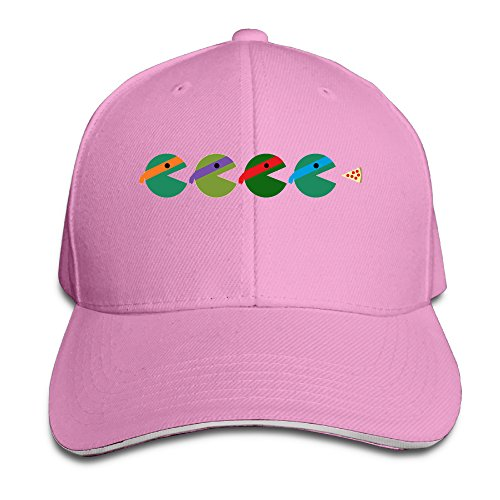 Ninja Turtles Krang Costume (Logon 8 Pac-Turtles Unisex Sandwich Peaked Cap Pink One Size)