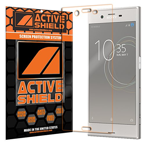 Sony Xperia XZs (2 PACK) Screen Protector Active Shield all weather Premium HD shield with Lifetime Replacement Incentive Program