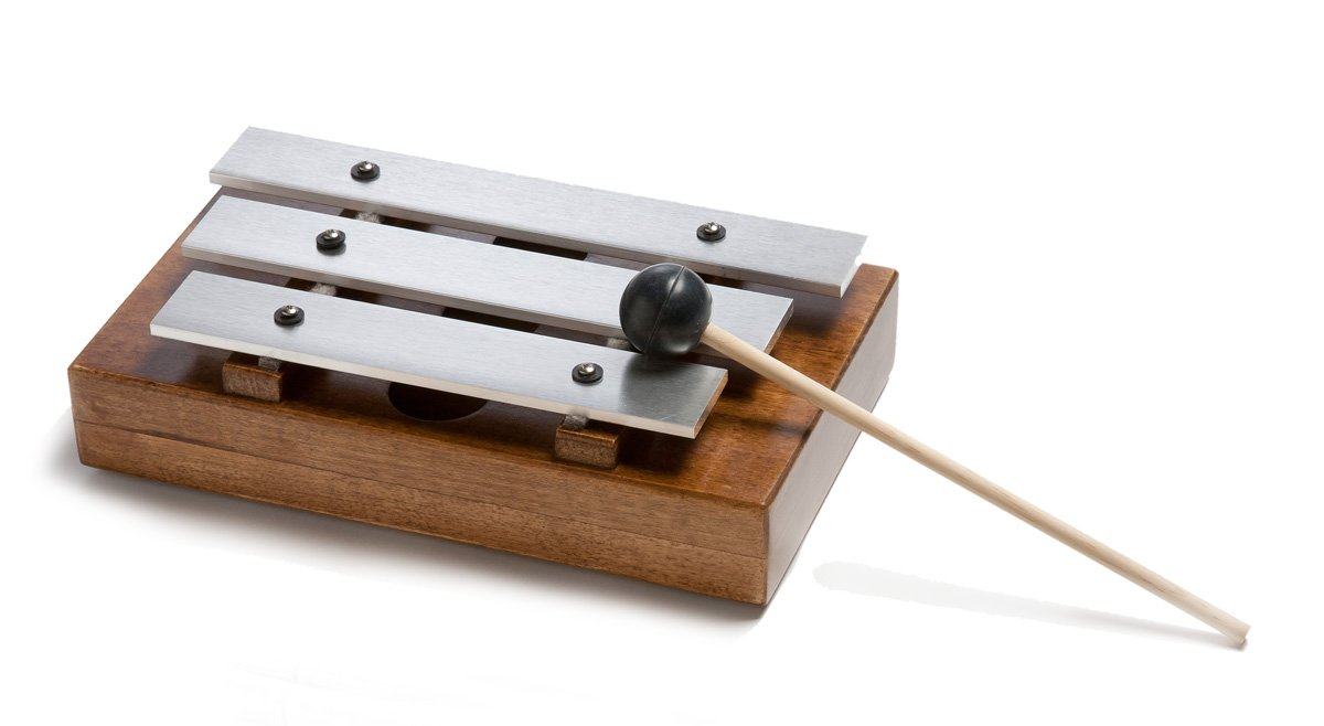 3-tone Attention Meeting Chime w/ Mallet For Classroom & Meeting Management