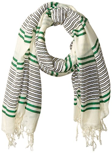 Prana Fringe - prAna Women's Collette Scarf, Emerald, One Size