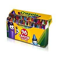 Crayola Crayola con afilador incorporado, 96 ct.