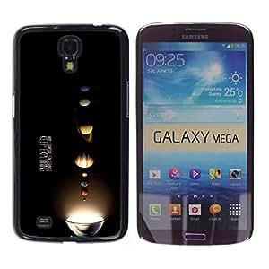 EJOY---Cubierta de la caja de protección la piel dura para el / Samsung Galaxy Mega 6.3 / --Sigue explorando Vía Láctea