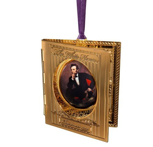 1999 White House Christmas Ornament, President Abraham...