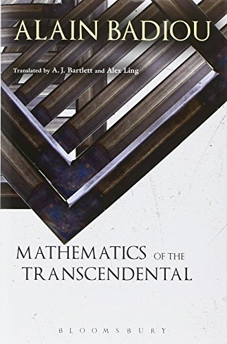 Mathematics of the Transcendental: Onto-logy and being-there