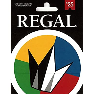Regal Entertainment Gift Card $25