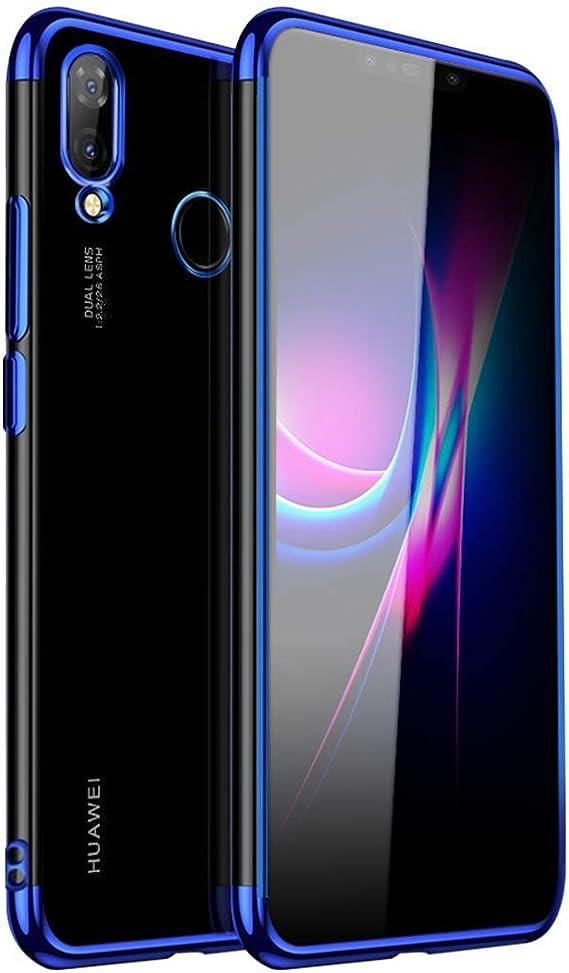 Huawei Nova 3 Coque, Windcase Ultraslim TPU souple transparent plaqué côté Coque pour Huawei Nova 3, Huawei Nova 3i