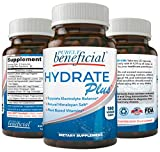 Hydrate Plus- Natural Electrolyte Supplement w/Himalayan Salt, ReHydrate & Recover; 180 Capsules – Supports Keto, Low Carb, Athlete's Review
