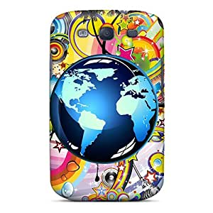 Hot Fashion MRyLA6530nbdgi Design Case Cover For Galaxy S3 Protective Case (musical World)