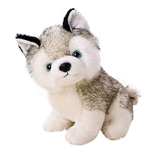 Realistic Stuffed Animal Husky Dog For 3+ Yrs Baby Kids Adults(7