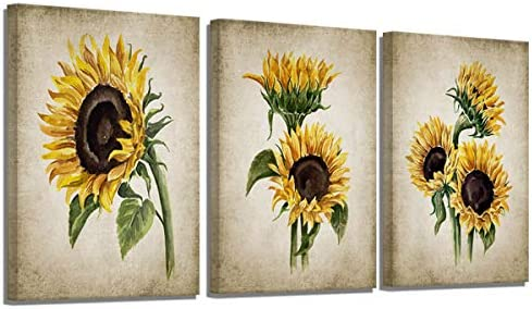 Rustic Sunflower Kitchen Decor