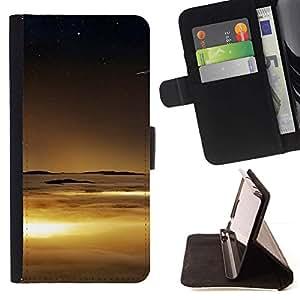 For Sony Xperia Z1 Compact / Z1 Mini (Not Z1) D5503 Case , Naturaleza Hermosa Forrest Verde 70- la tarjeta de Crédito Slots PU Funda de cuero Monedero caso cubierta de piel