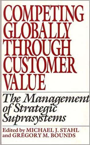 Descargas de libros electrónicos para teléfonos Android Competing Globally Through Customer Value: The Management of Strategic Suprasystems 0899306004 (Spanish Edition) RTF