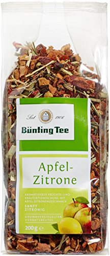 Bünting Tee Apfel-Zitrone 200 g lose, 6er Pack (6 x 200 g)
