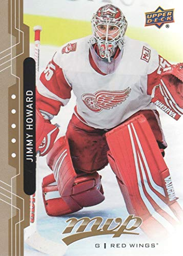 2018-19 Upper Deck MVP Hockey #185 Jimmy Howard Detroit Red Wings