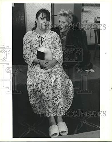 1990 Press Photo Scene from